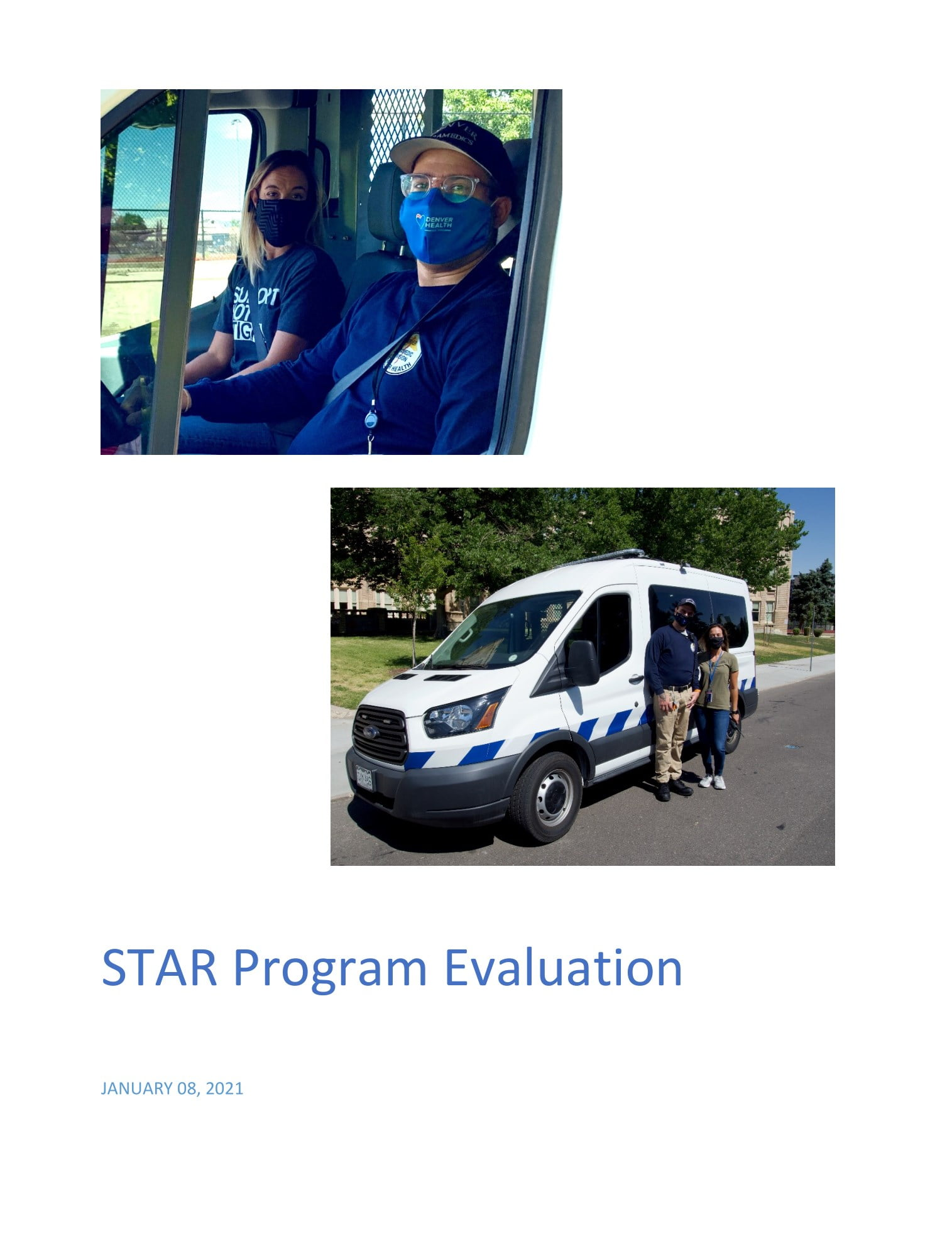 Cover photo of STAR evaluation