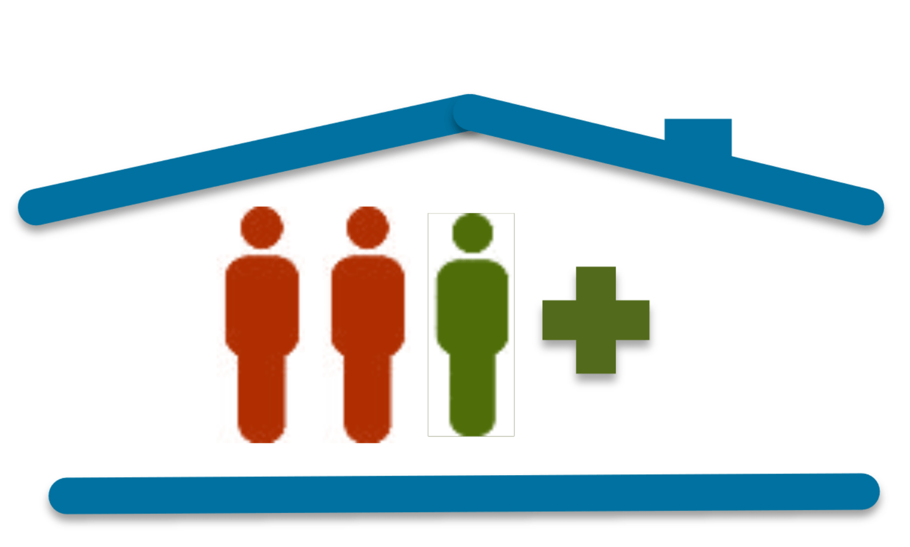 Image depicting group living