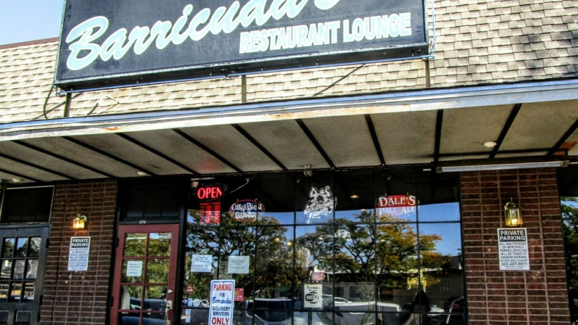 Photo of storefront at 1076 Ogden