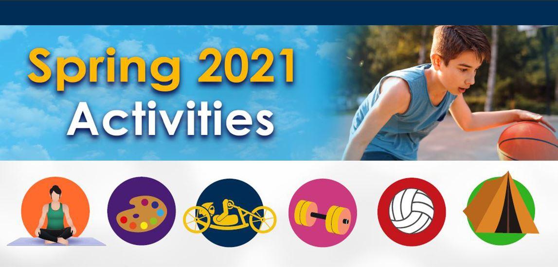 Denver recreation centers spring 2021 reopening banner