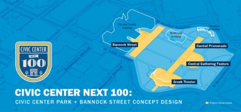 Civic Center Next 100: Civic Center Park & Bannock Street Concept Design..